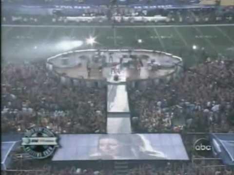 Shania Twain - Live - Super Bowl - Man i feel like a woman - Up !