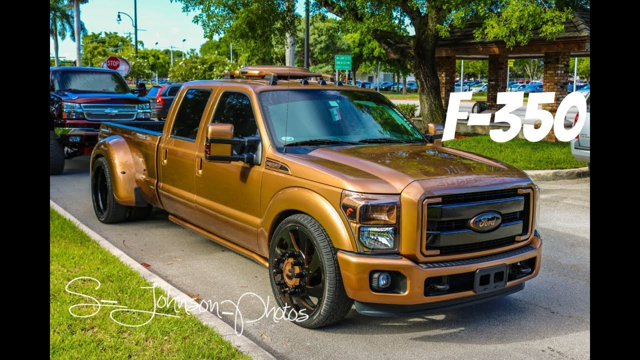 2017 Dodge Dually >> Ford F-350 super duty on Forgiato Wheels in HD (must see) - YouTube