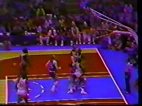 Julius Erving (31pts/19rebs) vs. Nuggets (1976 ABA Finals/Last ABA Game)