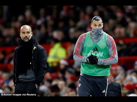 Zlatan Ibrahimovic reignites feud with Pep Guardiola as he calls the Manchester City manager