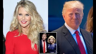 Christie Brinkley claims Donald Trump tried to woo her