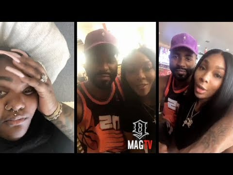 BK & Sierra Boo'd Up On IG Live! And Tokyo Vanity Is Not Happy 😡