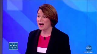 Meghan McCain Exposes Amy Klobuchar's Pro-Abort Cowardice (Despite Joy Behar's Best Efforts)