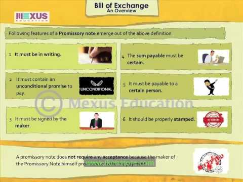 Bill of Exchange - An Overview