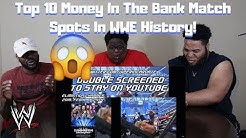 Top 10 Money In The Bank Match Spots In WWE History! (REACTION)