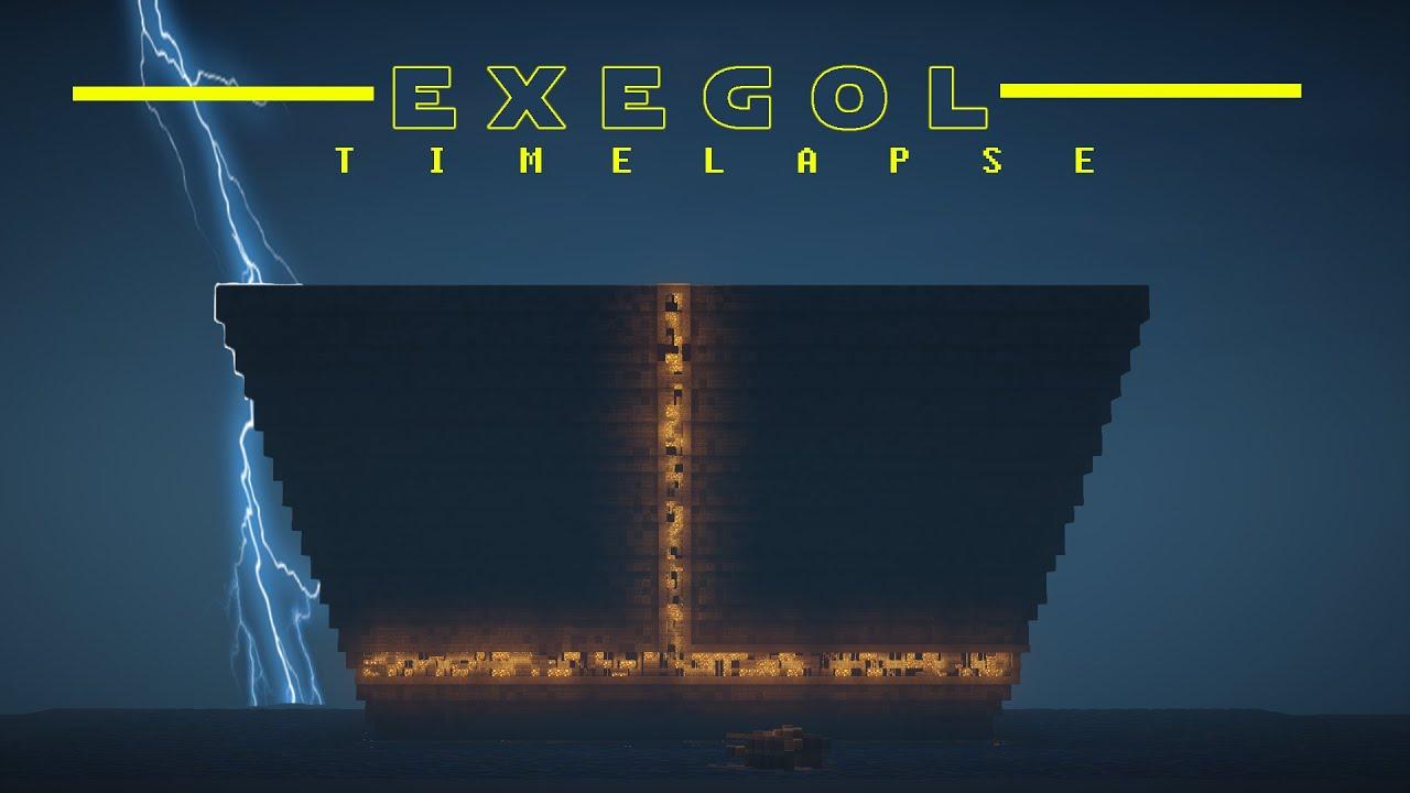 Star Wars Episode 9 Exegol Minecraft Timelapse Build Download Youtube