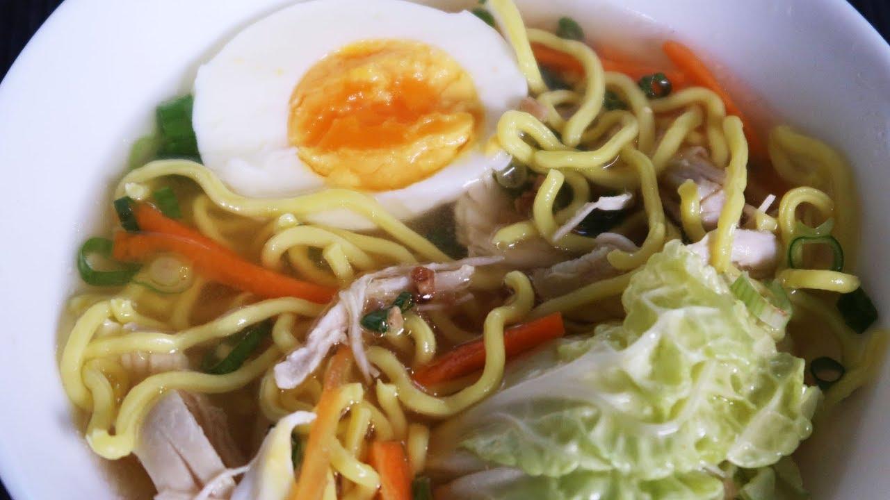 Chicken Noodle Soup Recipe Panlasang Pinoy