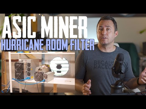 Bitcoin Mining Filter Room For My ASIC S19j Pro Miners. How Much Do They Make?