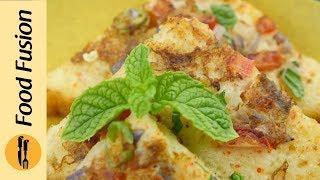 Breakfast Recipe Masala  Omelette French Toast