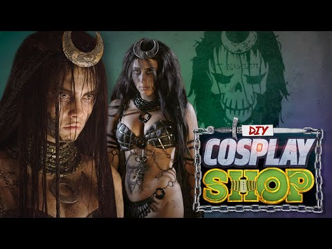 Enchantress From Suicide Squad Diy Cosplay Shop Youtube