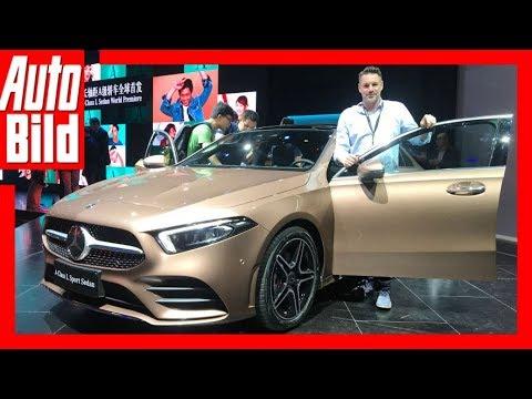 Mercedes A Klasse Limousine Auto China 2018 Details Erklarung