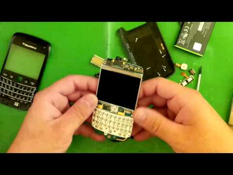 Blackberry Bold 9790 disassembly