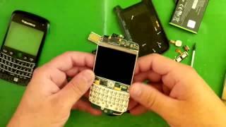 Blackberry Bold 9790 disassembly