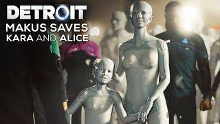 Gambar cover Markus Saves Kara and Alice Ending - DETROIT BECOME HUMAN