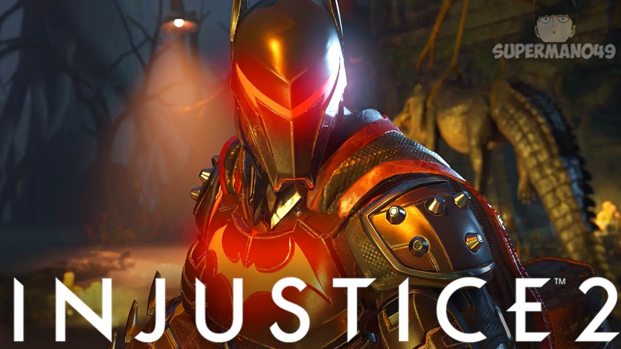 "THE BEST LOOKING BATMAN OF ALL TIME! - Injustice 2: ""Batman"" Battle Simulator On Very Hard"