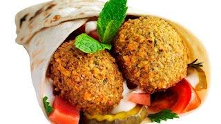 How To Make Lebanese Falafel - Sandwich Falafel -  طريقة تحضير الفلافل ـ الطعمية