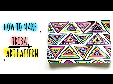 How to Draw // TRIBAL ART // Patterns