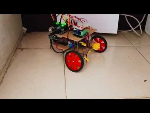 Obstacle Avoider Robot Using Arduino - Project Assignment For SKYFI LABS