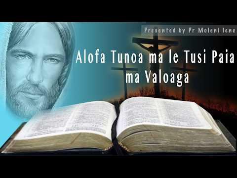 Pr Moleni Iene | Alofa Tunoa ma le Tusi o  Mataio (Vaega 1) | Program#7