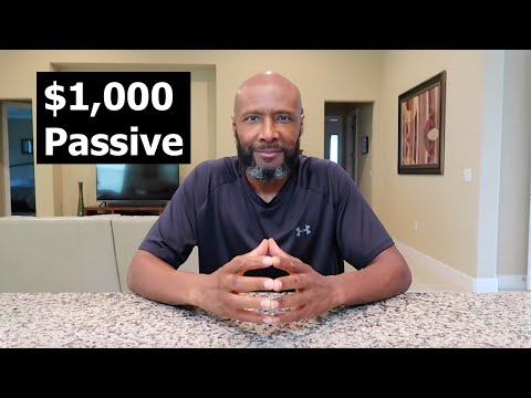 How To Invest $1,000 and Make Passive Income Like a Millionaire