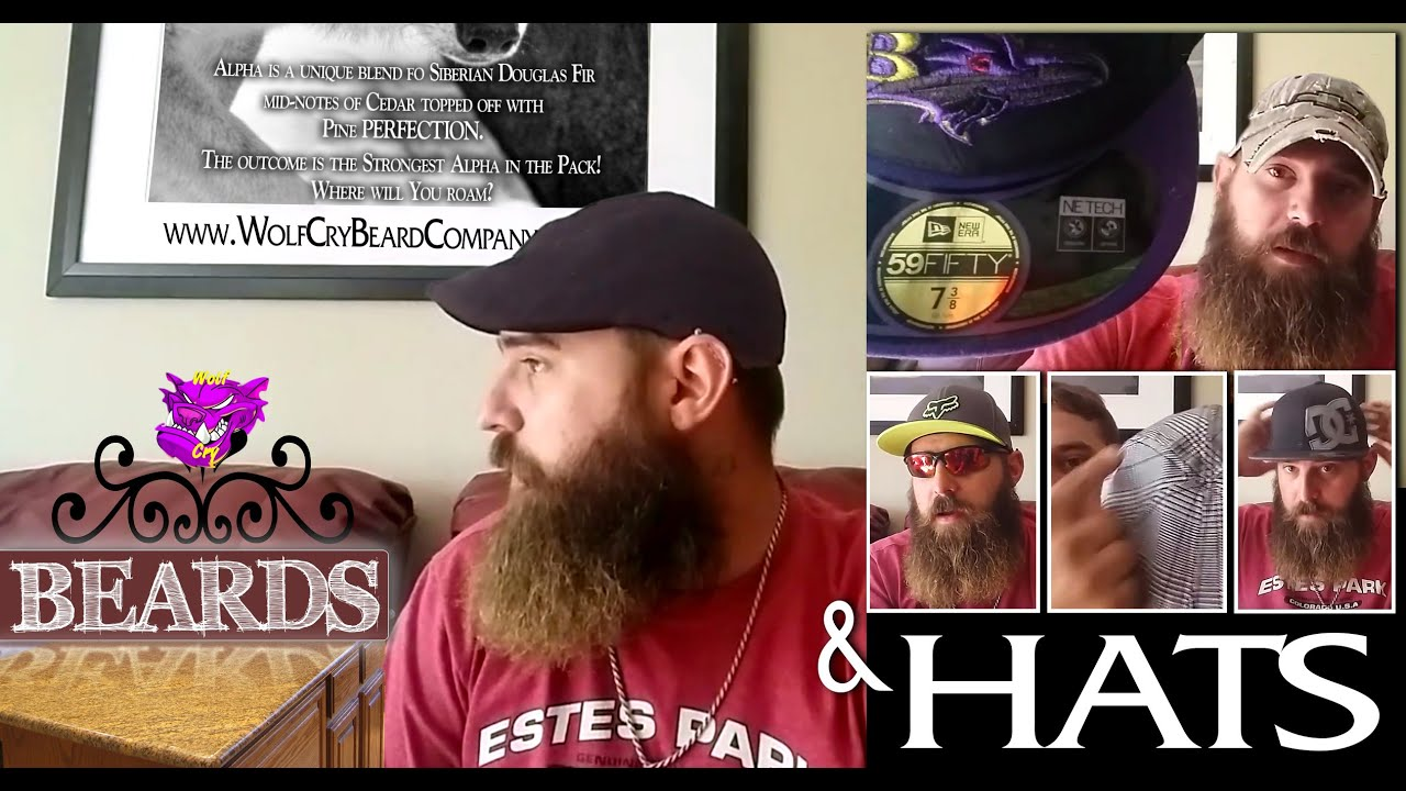 3f1fec2f2c110 What Hat Style Does Your BEARD Need  - YouTube