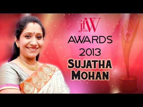 Sujatha Mohan at JFW awards 2013 | Women Achievers Award | JFW awards | JFW Magazine
