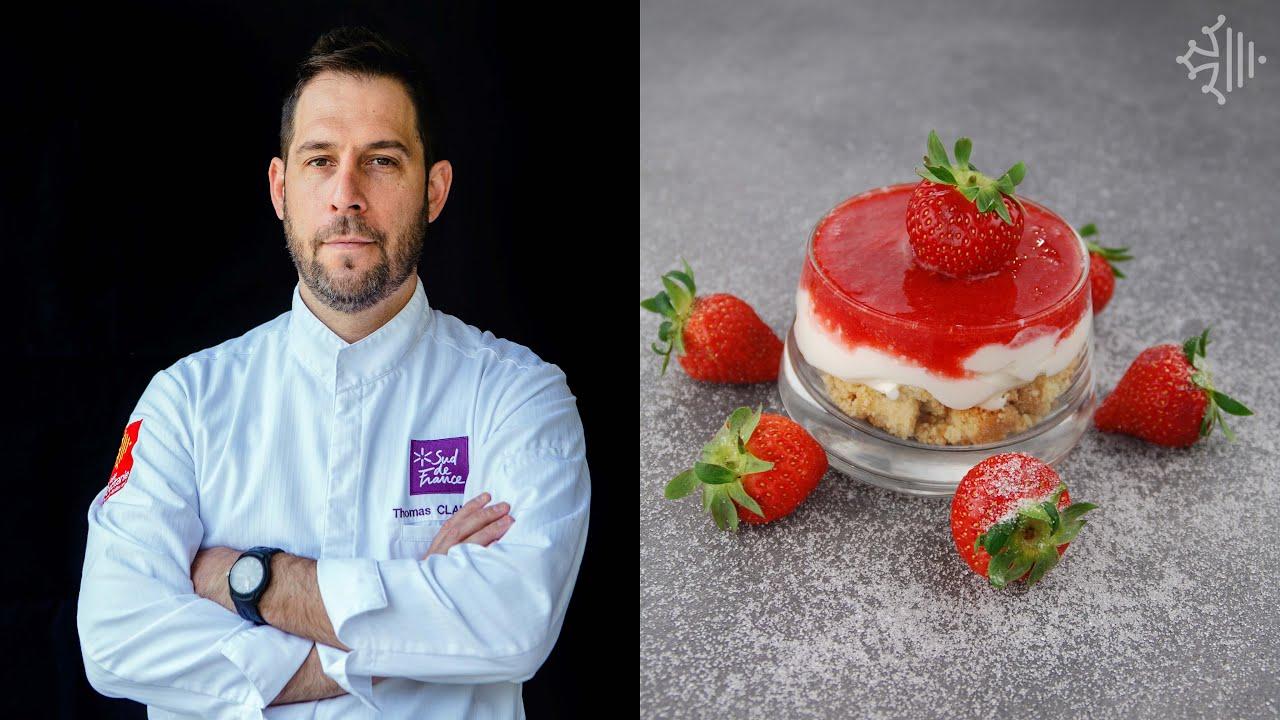 #CuisinezConfinés : la verrine de fraises aux biscuits