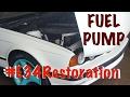 #E34Restoration BMW 525i Fuel Pump Replacement