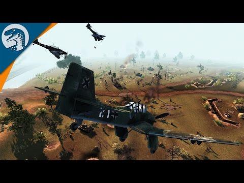 ABSOLUTE WARFARE | Robz Mod | Men of War: Assault Squad 2 [MOD] Gameplay