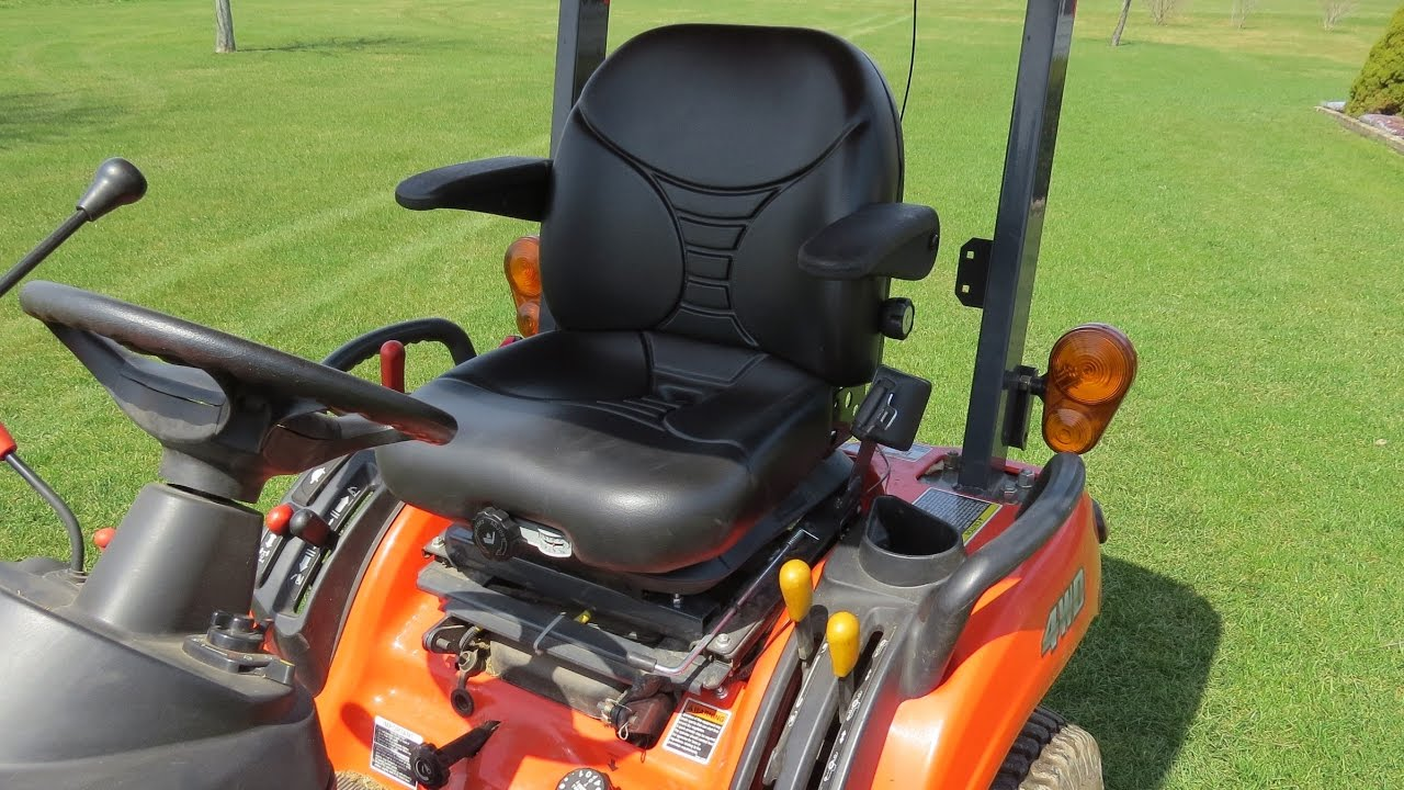 Replacing The Seat On My Kubota BX2360 With A Michigan Suspension Seat