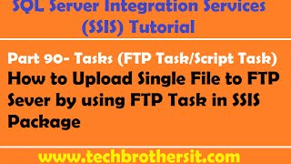 SSIS Secure FTP Task (SFTP, FTPS / SSL) - Upload, Download, Delete