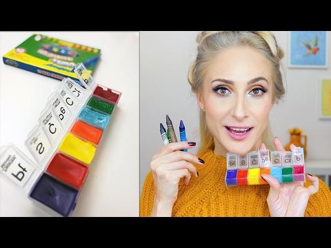 Pastel Boya Kalemiyle Ruj Yapılır Mı Sebile ölmez Youtube