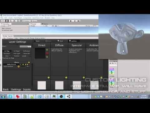 Shader Sandwich - A Powerful Layer Based Shader Editor for