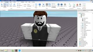 Roblox: how to create a model of themselves and friends and edit action.