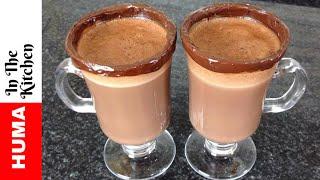 Hot Chocolate Recipe Hot Cocoa Homemade Winter Recipes by (HUMA IN THE KITCHEN)