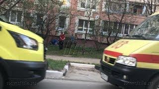 На улице Степанова в Туле с 5 этажа выпали двое детей