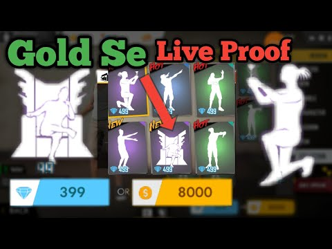 How To Unlock Emotes In Free Fire | Free Fire Gold Se Emote | Free Emotes In Free Fire