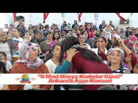 Kumluca'da Ankara'lı Ayşe çoşkusu