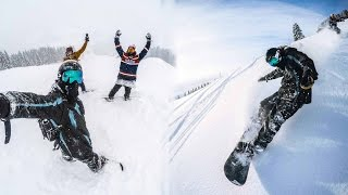 GoPro Snowboarding: Powder Days in the Alps