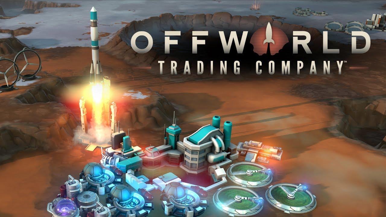 Offworld Trading Company Twitch Stream - 2/20/17