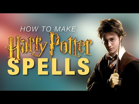 How To Make Harry Potter Spell Sounds