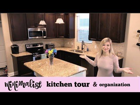 MINIMALIST KITCHEN TOUR & ORGANIZATION   SIMPLIFY YOUR HOME   HOW I KEEP MY KITCHEN CLEAN