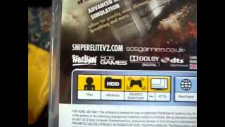 Sniper Elite V2 [PS3 Unboxing - UK] - 1080p