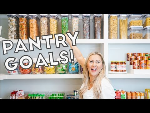 PANTRY ORGANIZATION WITH THE HOME EDIT!