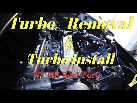 Turbo Removal and Install... Veloster Turbo