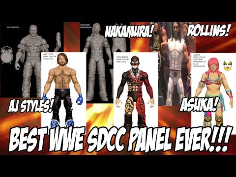 My Thoughts on WWE Mattel SDCC 2016 Figure Reveals