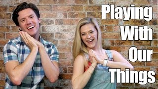 Playing With Our Things Challenge | Super Amazing Project