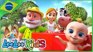 O Fazendeiro No Sítio - Músicas Para Crianças - LooLoo Kids Português