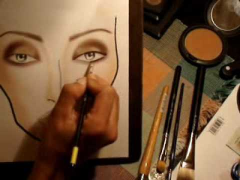 Designing On A Face Chart Youtube
