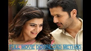 A Aa New Hindi Dubbed Full Movie Download method | Nithiin, Samantha | Trivikram